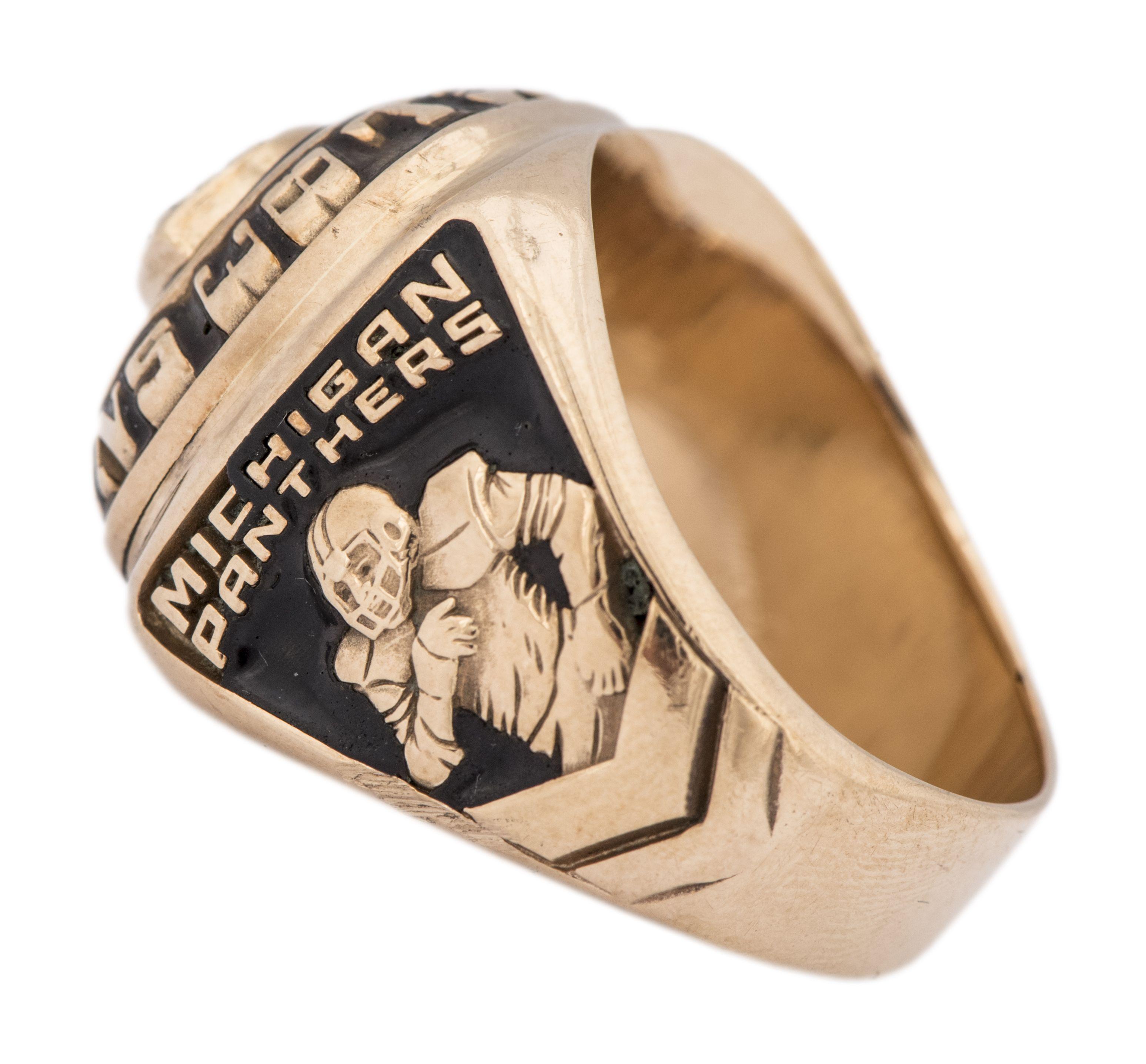 Michigan panthers 1983 usfl championship ring nfl