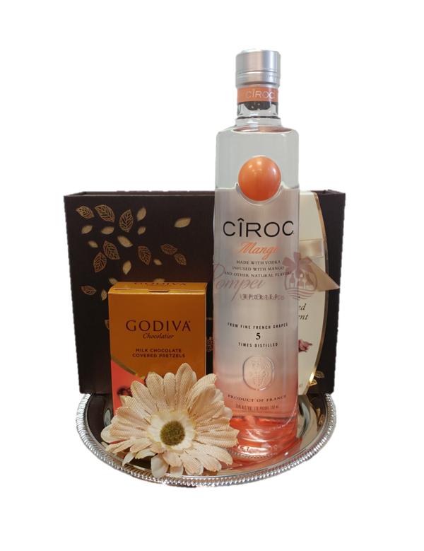 Ciroc Mango Vodka , Ciroc Mango Vodka Gift Set , Ciroc Mango Vodka Gift Baskets , Ciroc Mango Vodka Gift Basket , Free Delivery Ciroc Mango Vodka , Ciroc ...