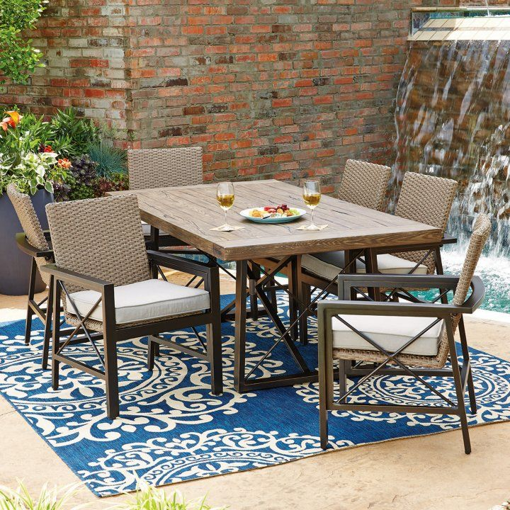 Sam S Club Member Mark Katana 7 Piece Dining Set