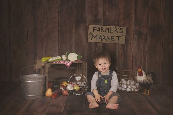 Instant Download DIGITAL BACKDROP for Photographers -Indoor Farmers Market #backdropsforphotographs