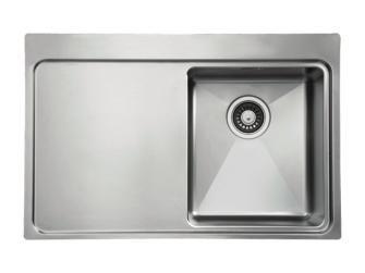 Einbauspüle Micro (78 x 51 cm, Edelstahl) 149€ | interior/ products ...