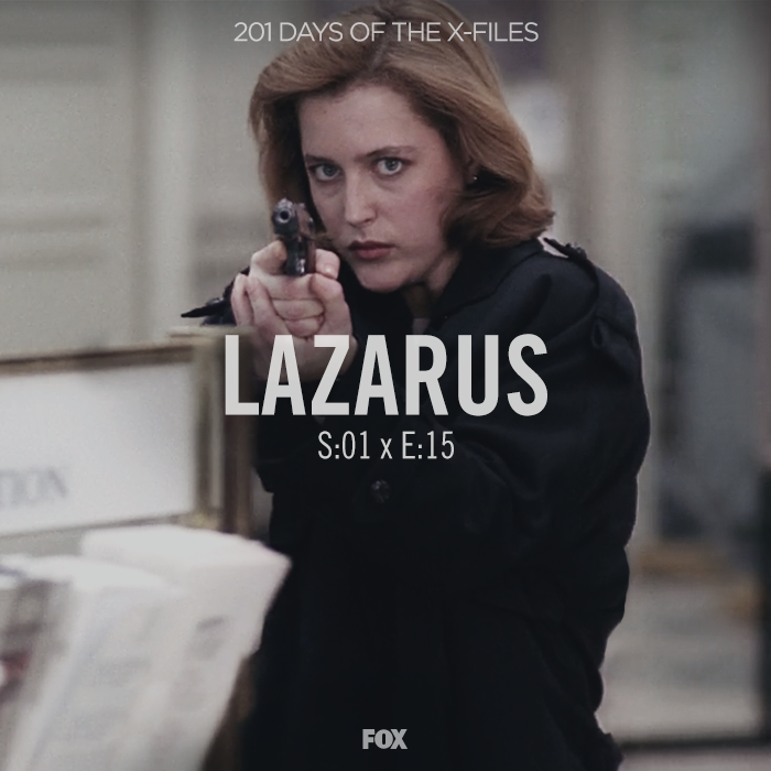 "Stream or grab a DVD and join us as we watch ""Lazarus"" today!"