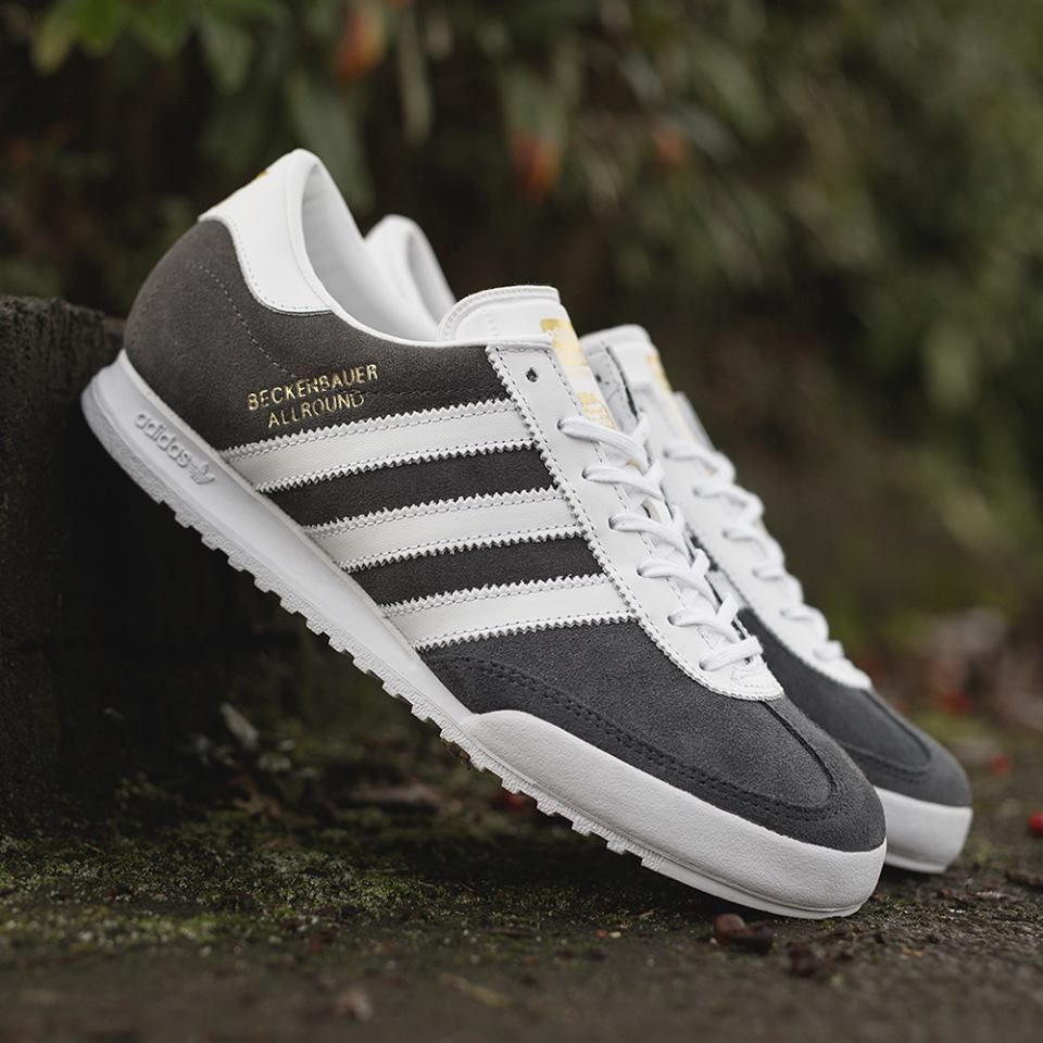 adidas Originals Beckenbauer Allround: Grey/White | Foot Fu ...