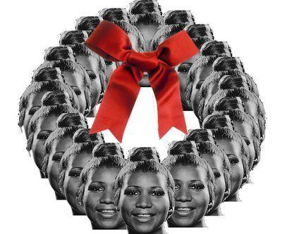 Aretha Franklin, Christmas Wreath   Singer/Songwriters   Pinterest ...