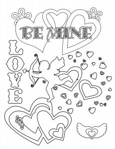 Free Valentines Day Coloring Pages And Printables Valentines St