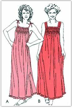 ef2ff9d62c Smocking and Heirloom Sewing Patterns for Women Detail
