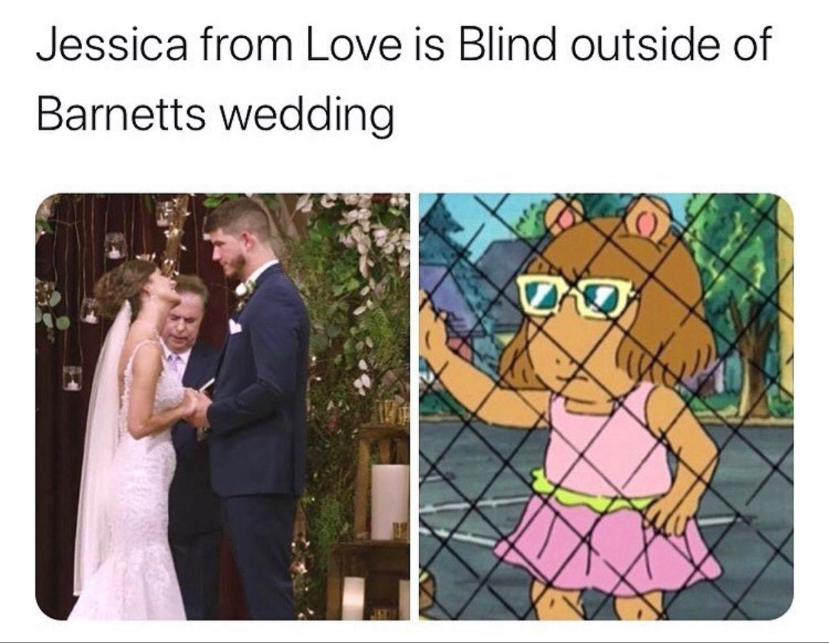 Love Is Blind Netflix Jokes Funny Quotes Meme Funny Joke Quote Memes Quotes Jokes Quotes