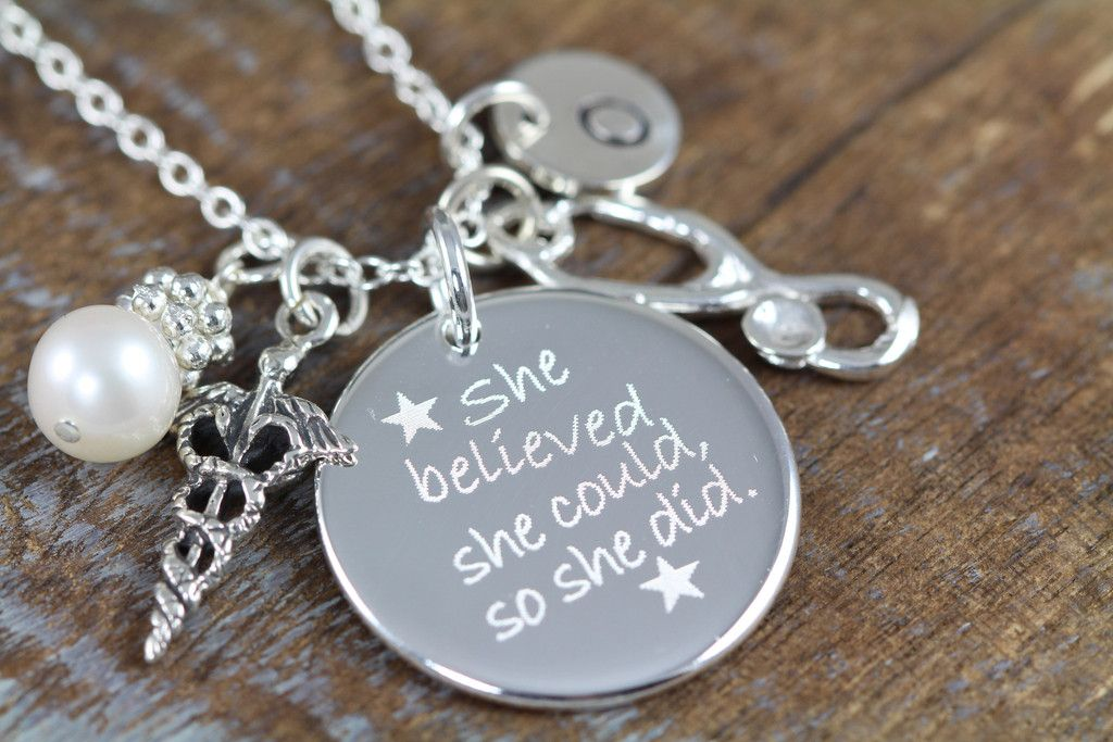 Personalized Graduation Gift for Nurse RN MD, Inspirational ...