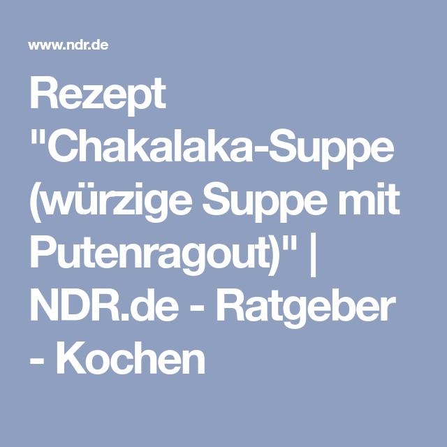 Rezept nicht gefunden | NDR.de - Ratgeber - Kochen