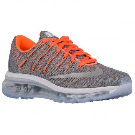 Special Nike Air Max Dynasty 2 Boys Grade School Running Shoes Wolf GreyWhiteCool GreyTotal Orange
