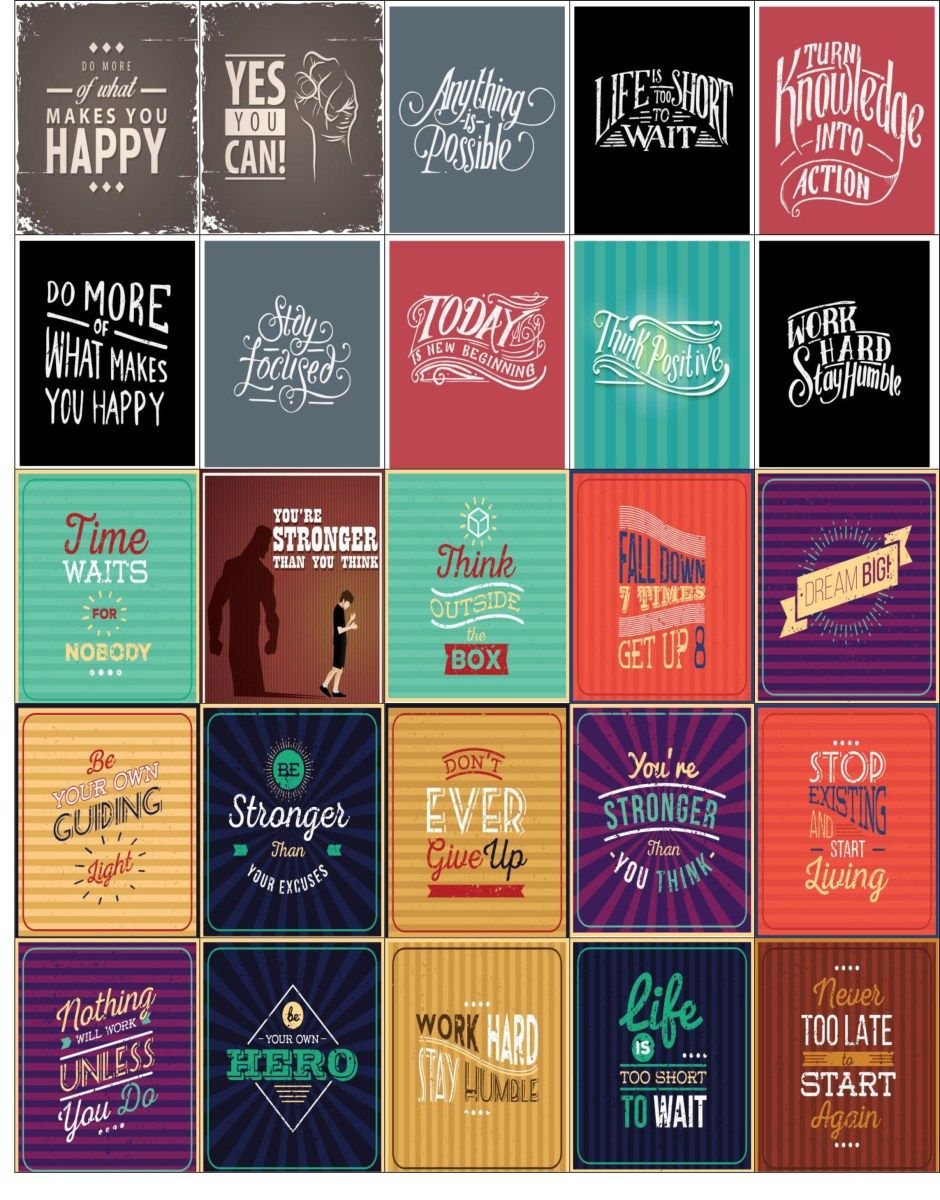 Free printablehappy planner motivational stickers