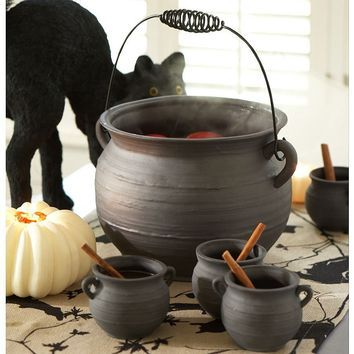 Cauldron Punch Bowl Cups Pottery Barn Potion Pinterest Stunning Decorating With Punch Bowls
