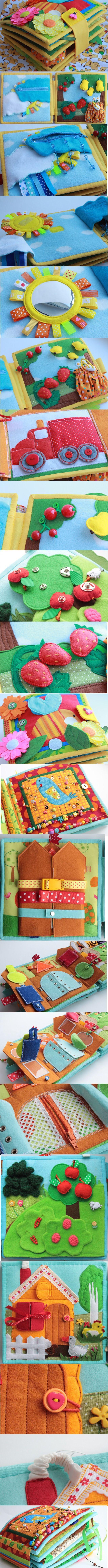 Idea para hacer un libro personalizado y divertido para tu bebé.