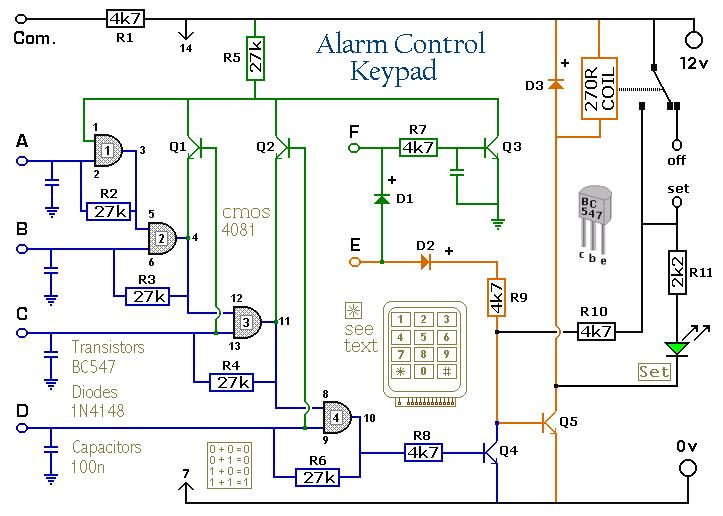 لوحة مفاتيح للتحكم في اي جهاز بارقام سرية الكترونيك بابل Electronics Components Electronics Circuit R5