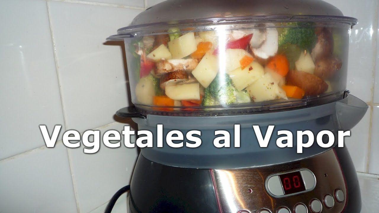 Vegetales al vapor. Verduras en la Vaporera Philips. RECETAS