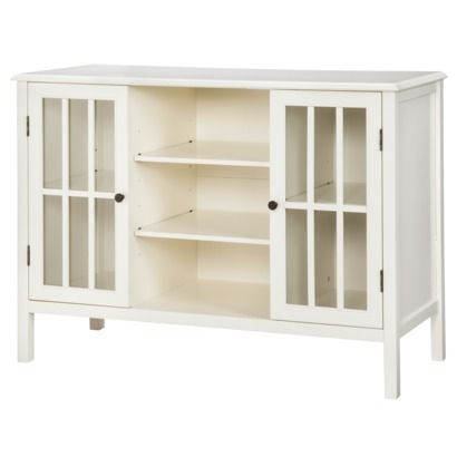 Threshold™ Windham 2 Door Cabinet with Center Shelves - in muted ...