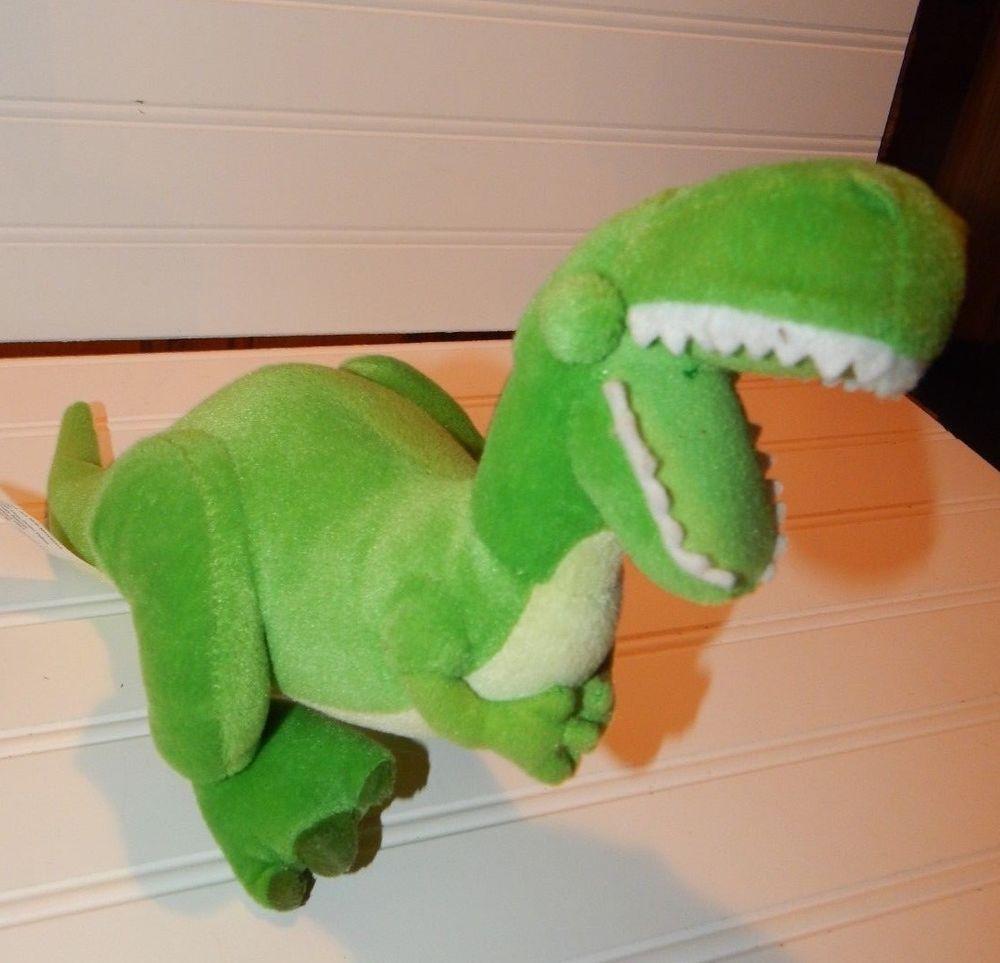 Details About Disney Toy Story Rex Dinosaur Plush Toy Stuffed Animal
