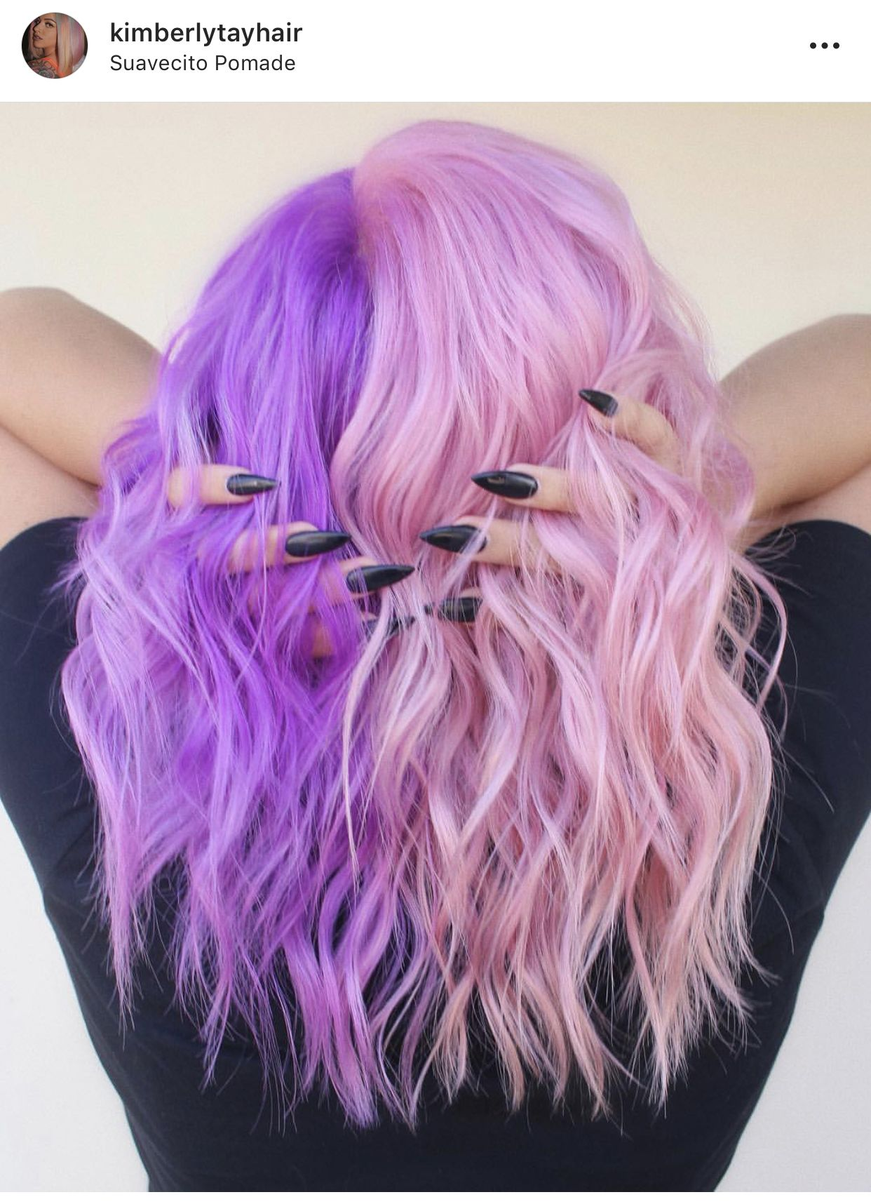 Pin By Jessica Bell On Hair Colors Hair Inspo Color Aesthetic Hair Split Dyed Hair