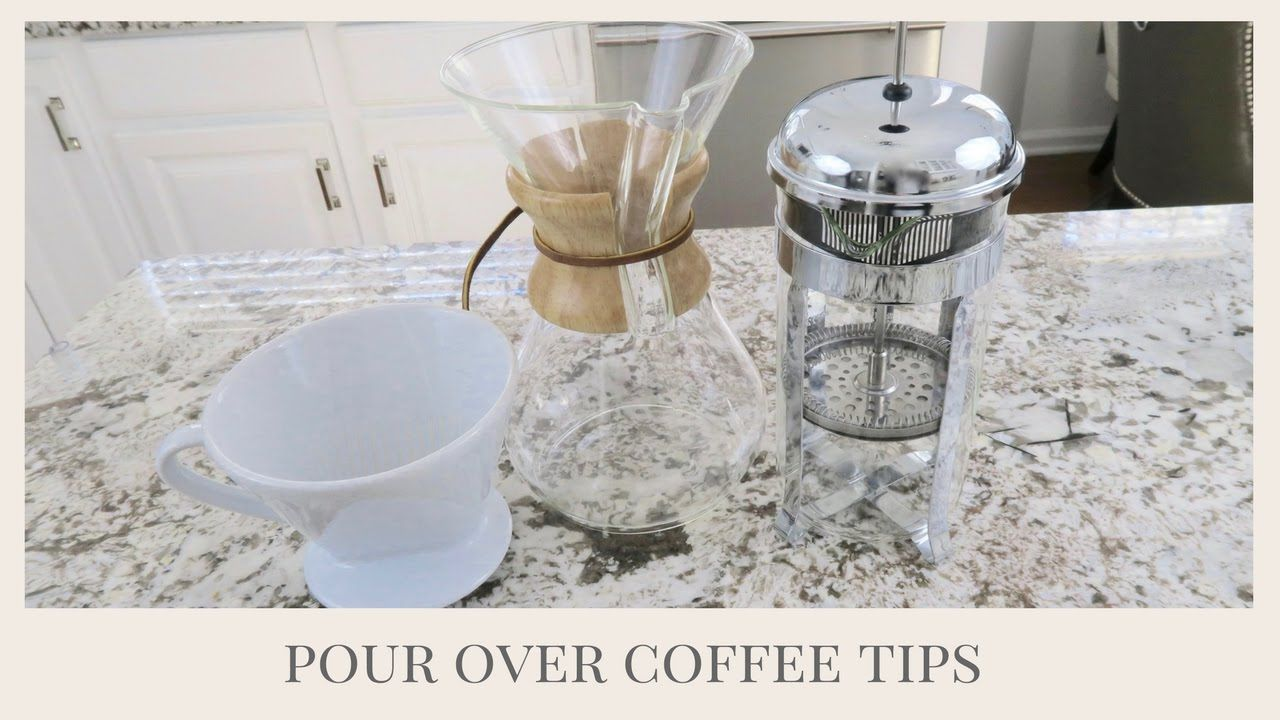 How to make the perfect cup of coffee at home pour over