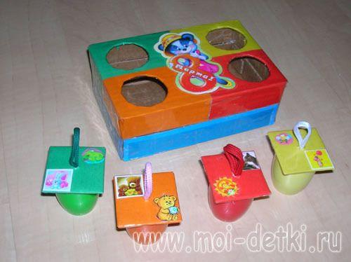 Фото. Развивающие игрушки своими руками фото. Первая ...