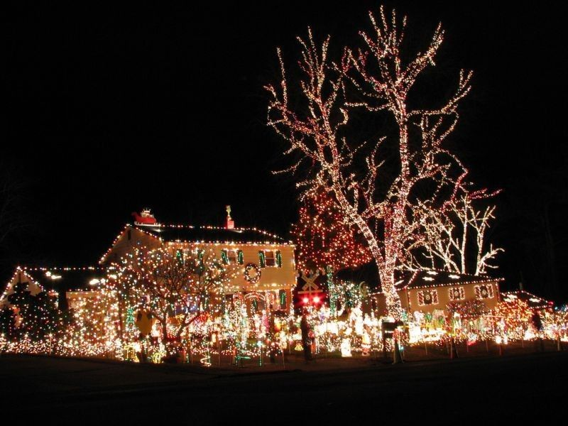 Christmas decorated houses in miami House design ideas Pinterest