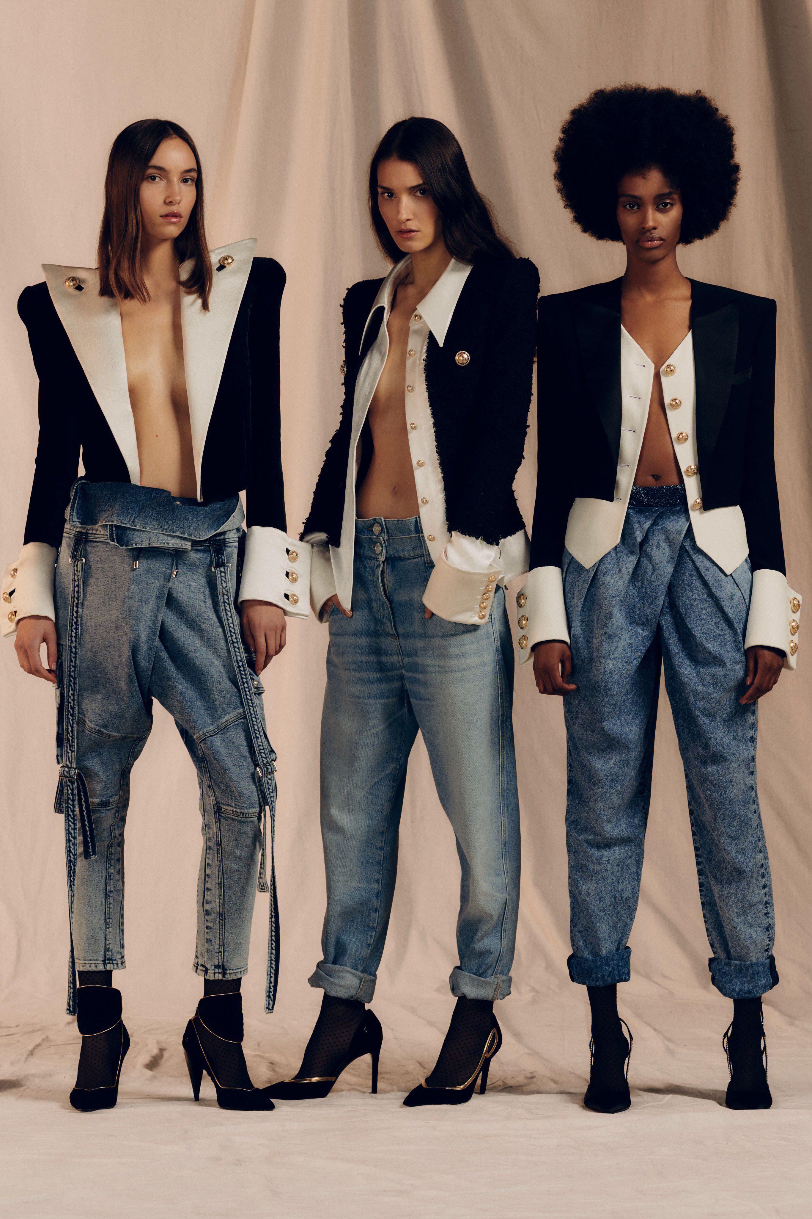 Balmain Pre Fall 2019 Fashion Show Collection: See the