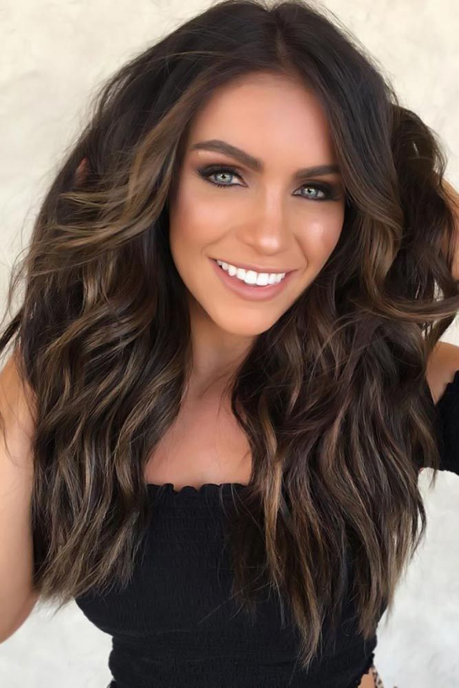 45 Suggestions For Dark Brown Hair Color | LoveHairStyles