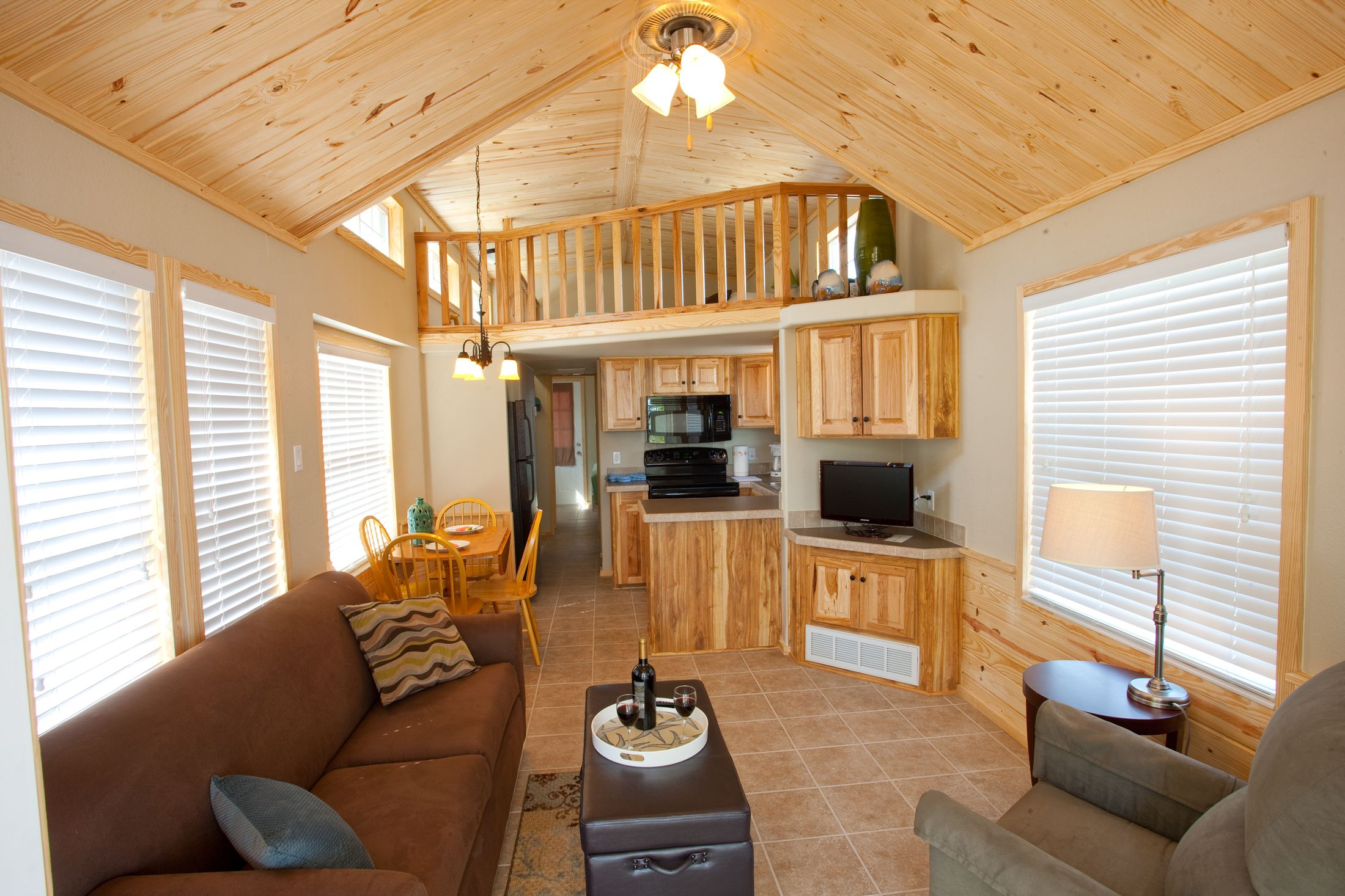 Interior Of RVC Resort Cottage