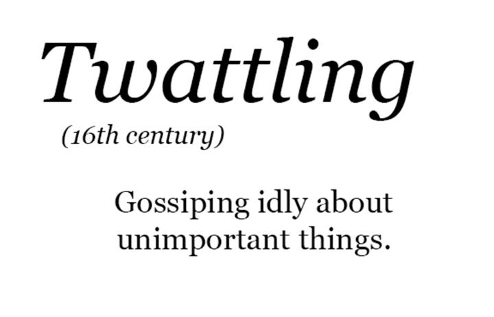 """Für Twitter würde es wohl """"Twittling"""" heißen. Und für Facebook? http://ift.tt/2mSLs7y"""