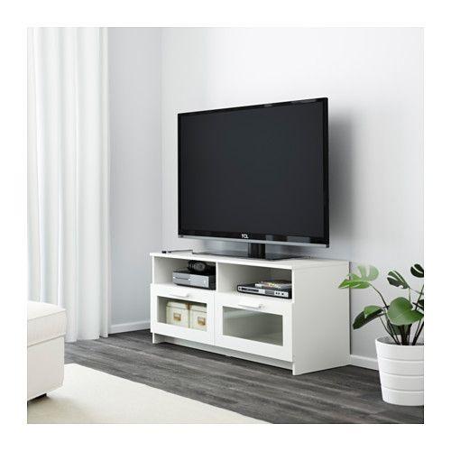 brimnes tv unit black tv units large drawers and drawers. Black Bedroom Furniture Sets. Home Design Ideas