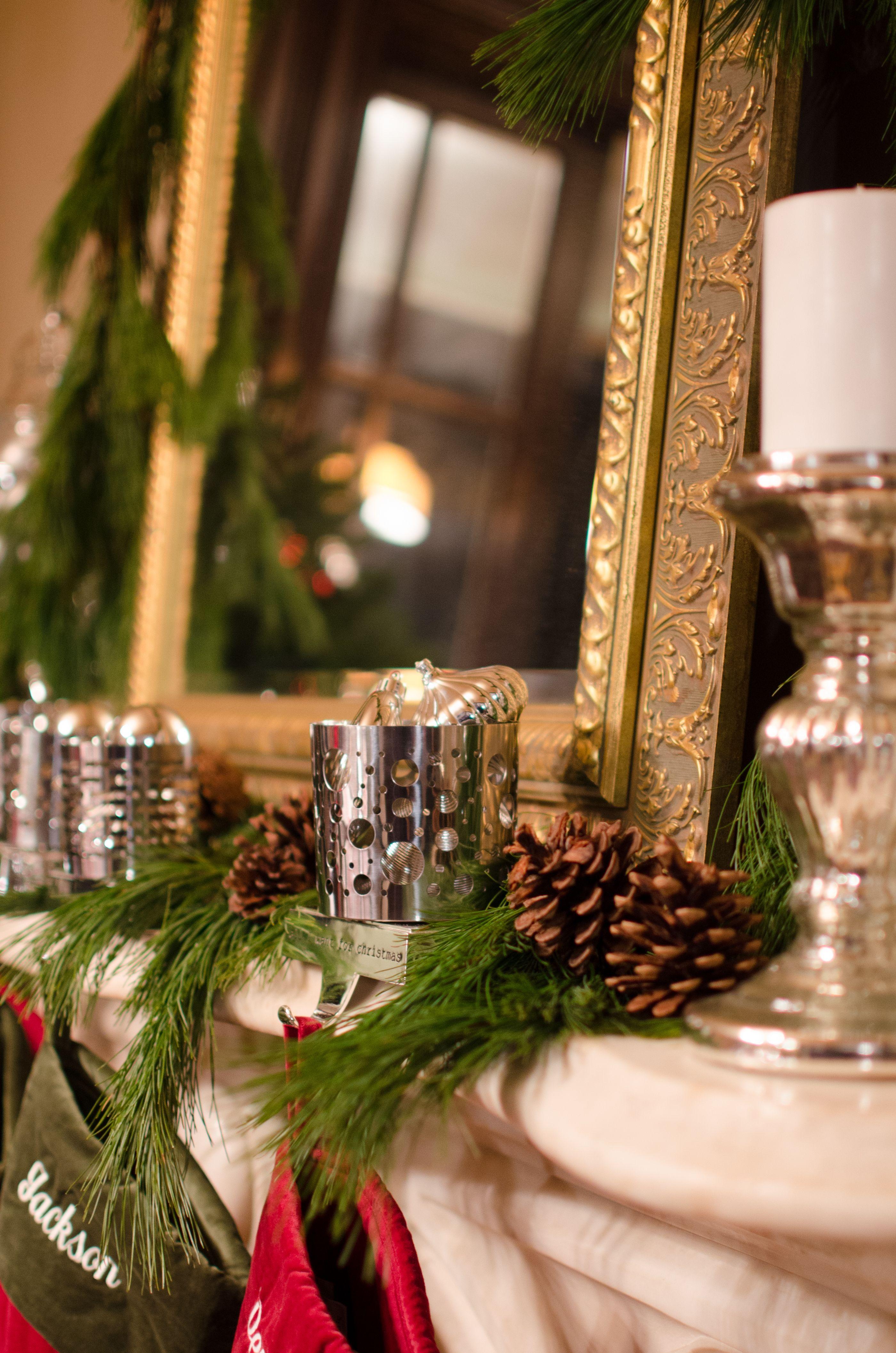live garland christmas decor