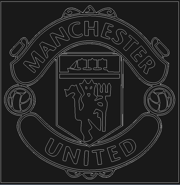 Image Result For Man Utd Logos Logo Number Man United Manchester United