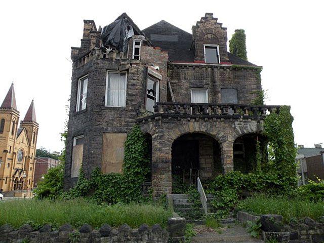 Hitzrot House The Castle Of Mckeesport Pa Castle