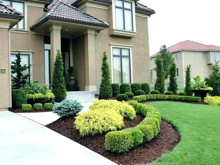 Front Of Ranch House Stone And Rock Landscaping Images Cool Front Yard Landscaping Ranch House Landscaping Large Backyard Landscaping Home Landscaping