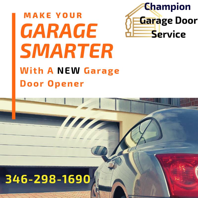 Garage Door Opener Installation Repair With Images Garage