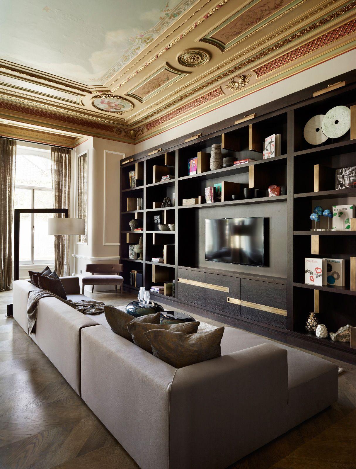Popular Interior Design For Tv Showcase: London Based Luxury Interior Design. International