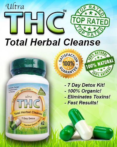 Natural thc detox recipes