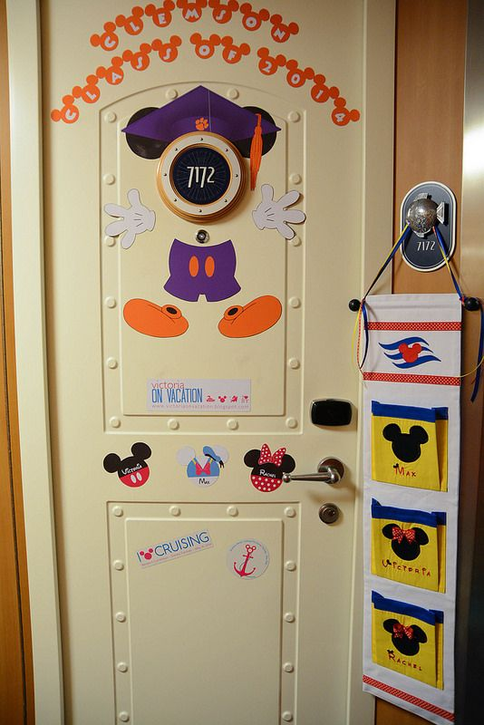 Door Decorations And Fish Extenders For Disney Cruise Line