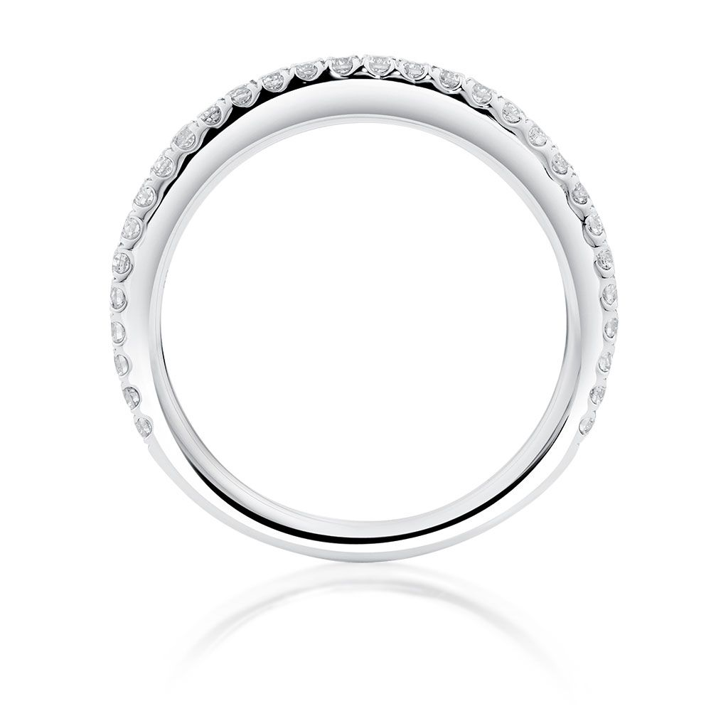 1 3 Carat Tw Diamond Allegro Wedding Band Diamond Engagement Rings Diamond Wedding Bands