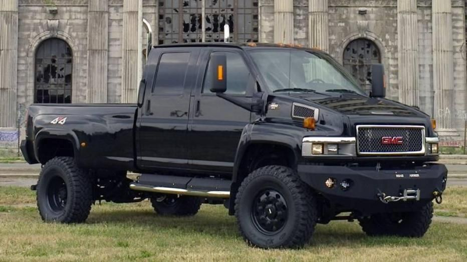 2007 Gmc Topkick 4x4 Transformer Ironhide Pickup Gmc Trucks