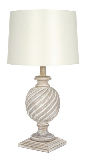 Pacific Lighting 960 Cr Antique Cream Wash Wood Table Lamp Base Only Pacific Lighting Http Www Amazon Co Table Lamp Wood French Table Lamp Cream Table Lamps