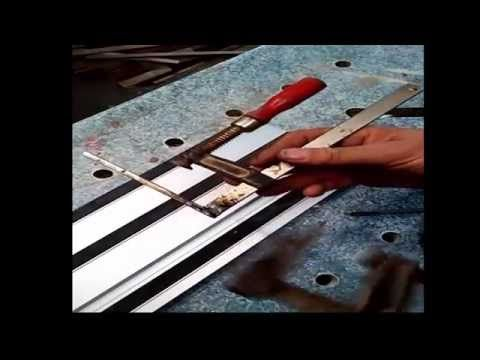 4-How to make homemade clamps for circular saw workshop / atelier