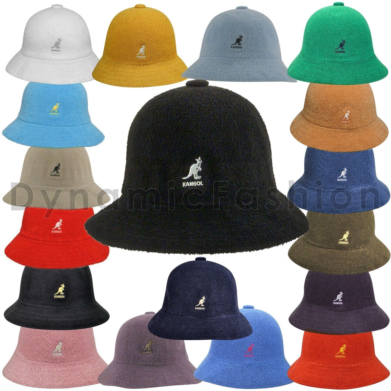 Authentic Kangol Bermuda Casual Bucket Cap Hat 0397Bc Sizes S M L Xl ... 20d7e66ea23e
