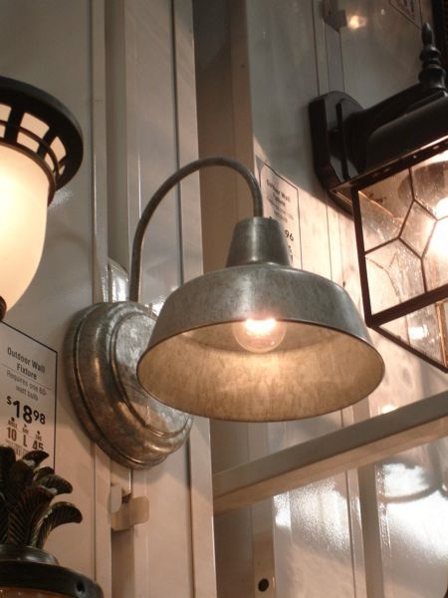 8 Good Things at Lowe's Barn lighting, Farmhouse kitchen