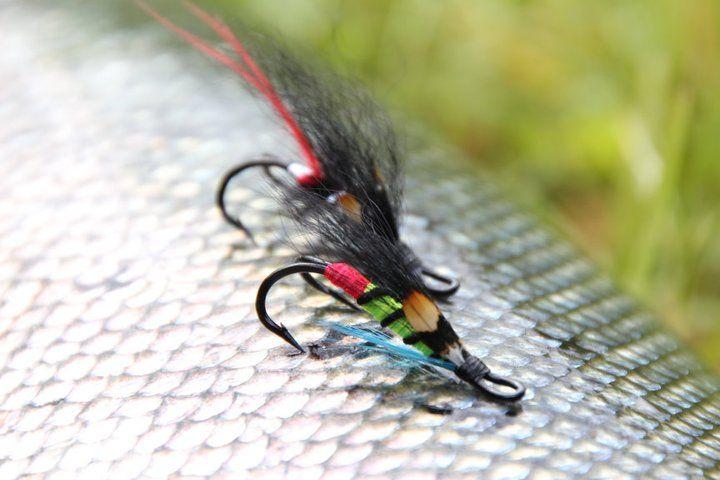 Morrasjokket Salmon Fly Dbl hook