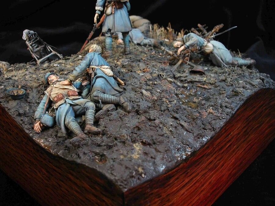Pin by Jay on life or death | Diorama, Military diorama