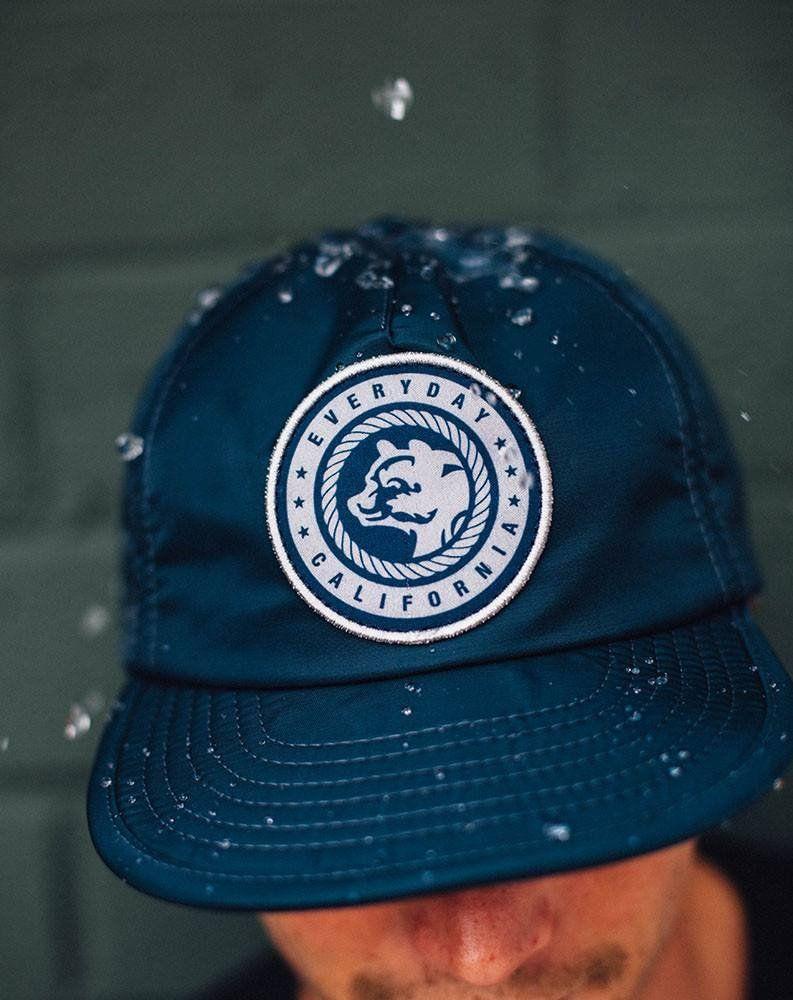 ce653eacbea Floating Waterproof Snapback Navy | Hat ideas | Snapback, Baseball ...