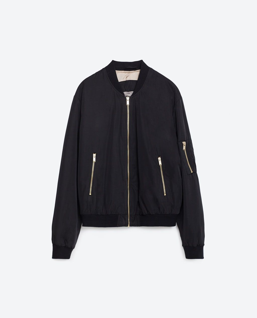 041a58d00d PADDED BOMBER JACKET-BOMBERS-WOMAN