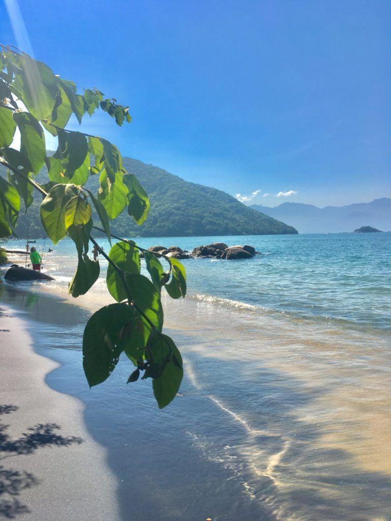 Praia Preta Ilha Grande Schone Orte Tagesausflug Trauminsel