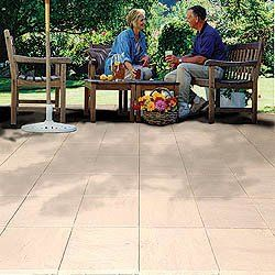 16 Quot Synthetic Pavers For Patio By Ppr Direct Set Of 20